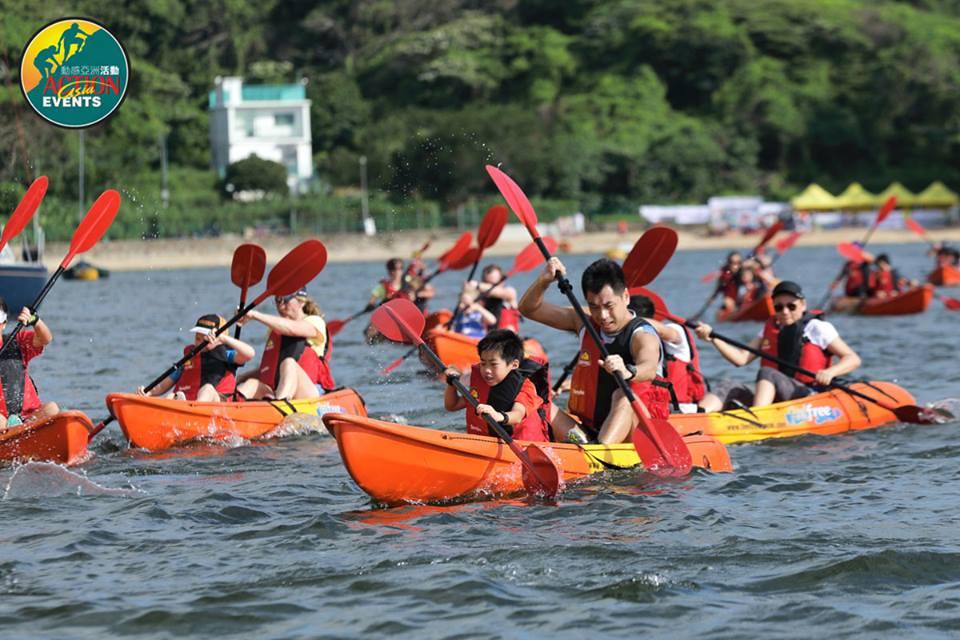 kayak run