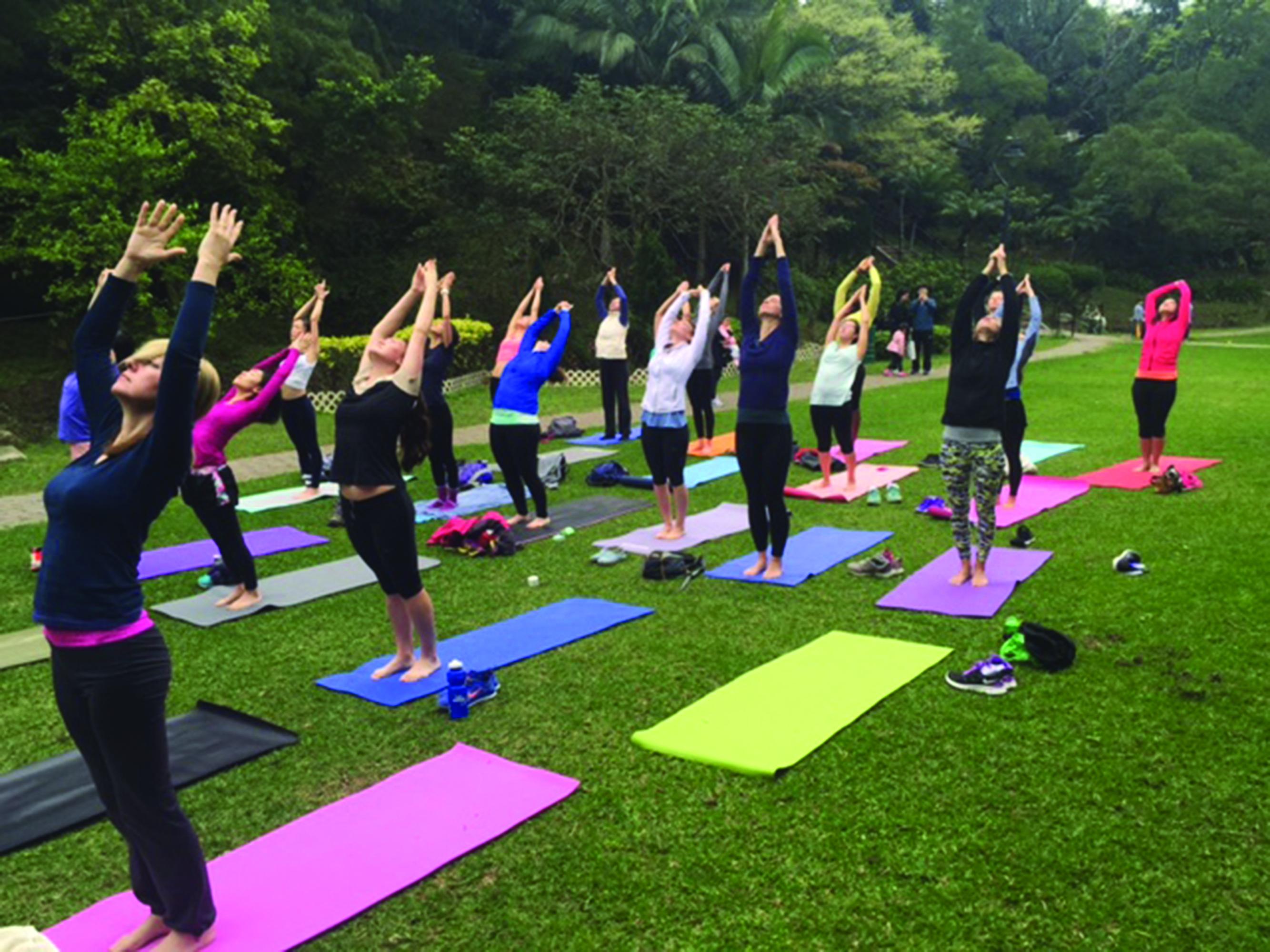 CMYK Yoga Room