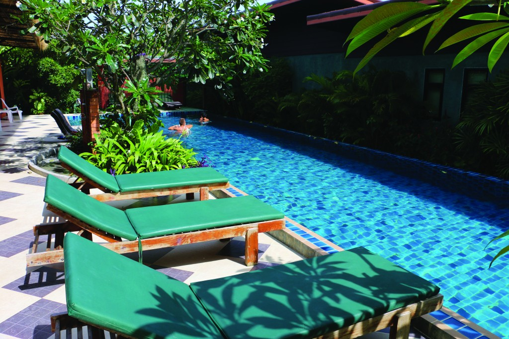 The pool at 2Home resort