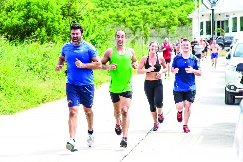Go on the 5k Buddha Run with Titan Fitness