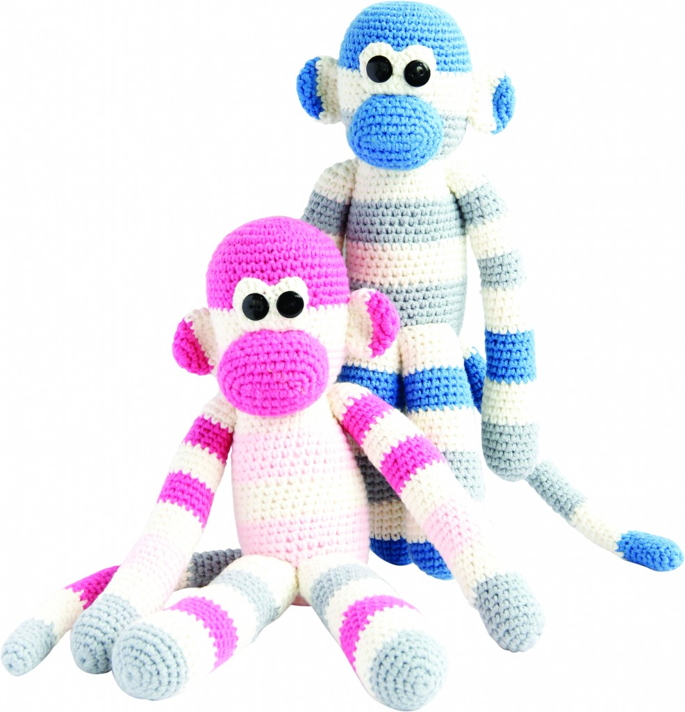 cmyk Yarn monkey doll_set copy