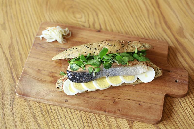 Get-it-in-ya Grilled Salmon Sandwich