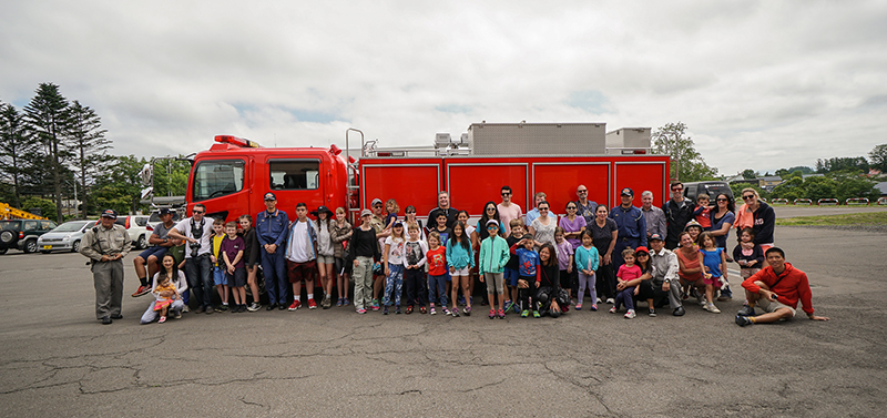 EdVenture summer camp Firestation
