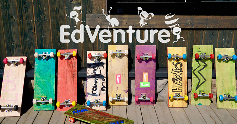 EdVenture with Skateboards