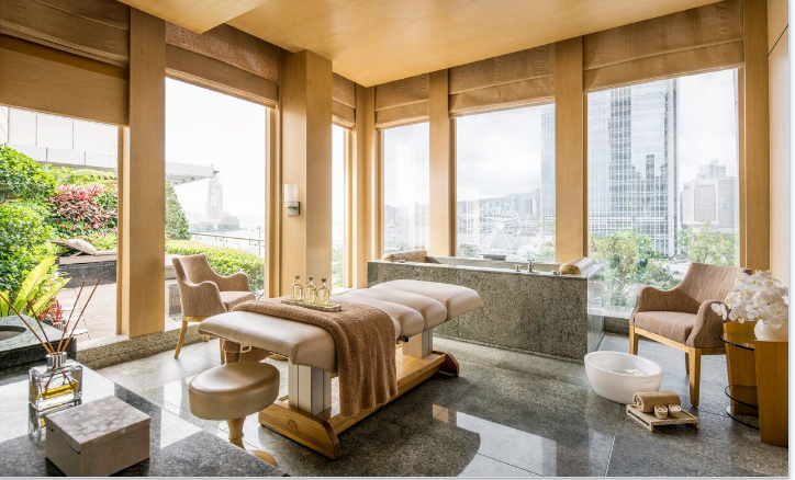 Chi Mineral Therapy at the Four Seasons Spa