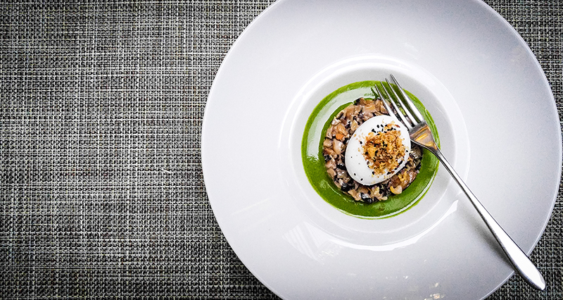 poached-taiyouran-egg-with-broccolini-chanterelles-and-black-truffle-copy