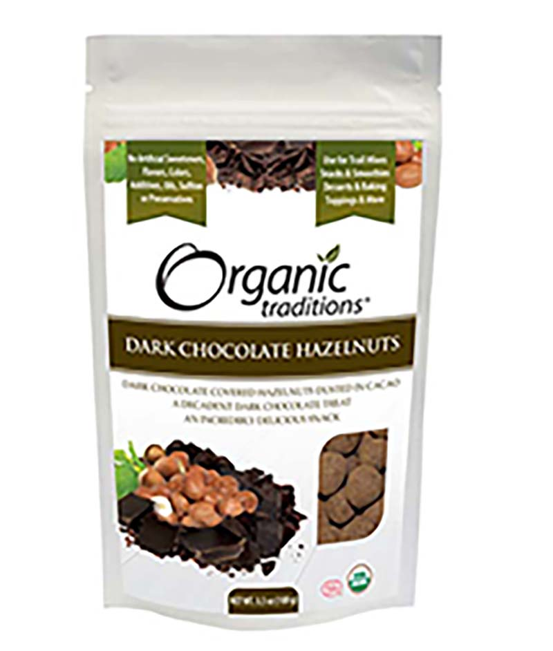 dark choc hazelnuts