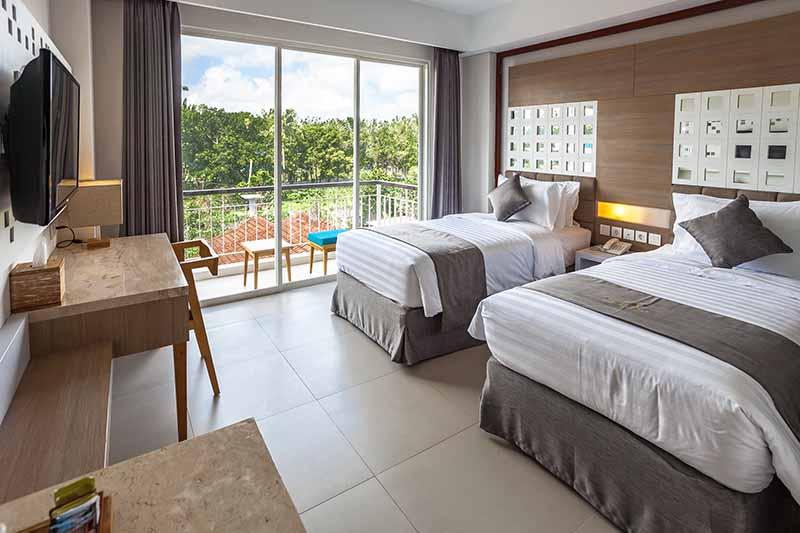 The Balinese Jimbaran Bay Beach Hotel