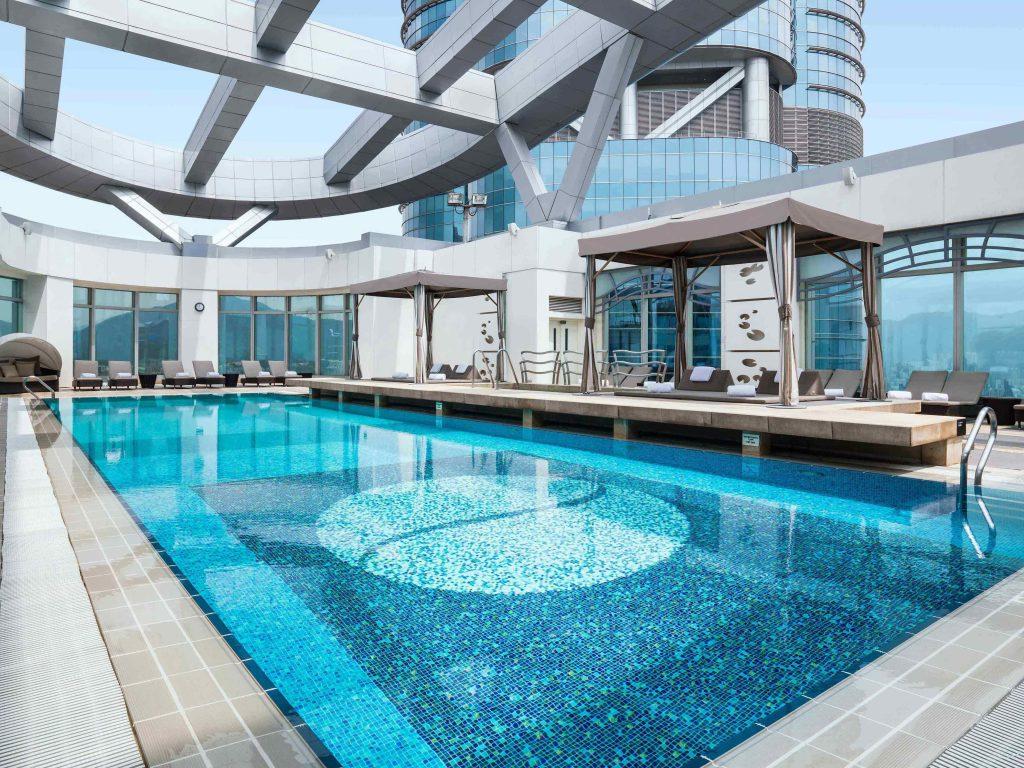 Cordis Hong Kong pool