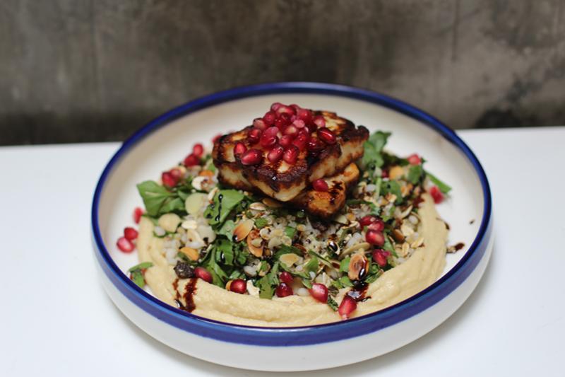 Haloumi & quinoa salad by Catch