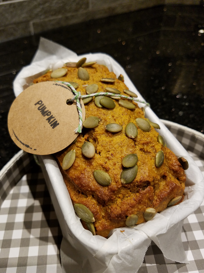 Paleo Pumpkin Bread by Veg Matters