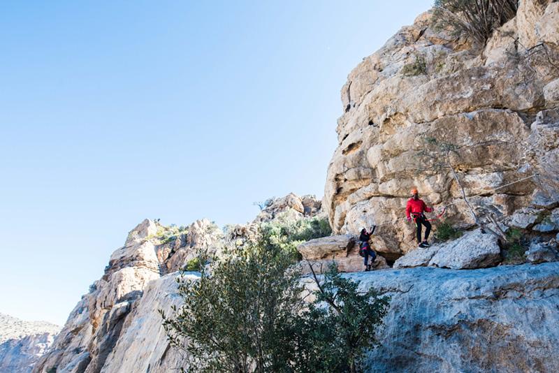 Alila Jabal Akhdar - The Alila Experience - Via Ferrata 02 copy