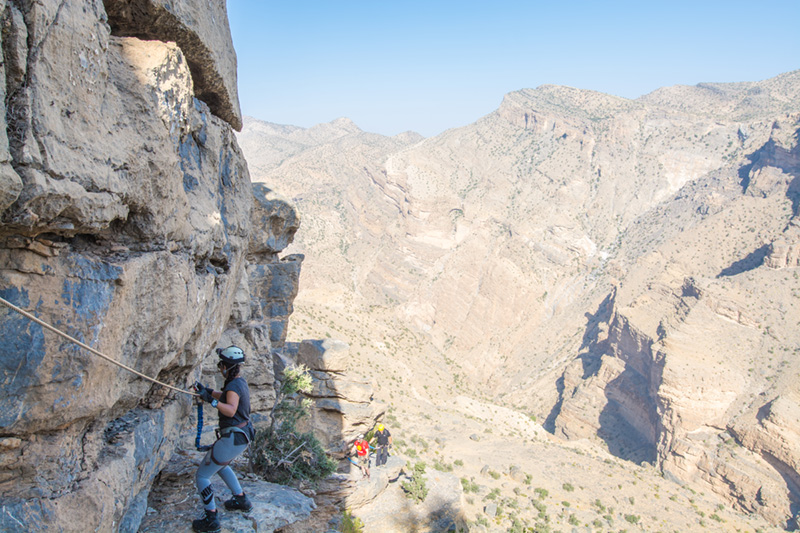Alila Jabal Akhdar - The Alila Experience - Via Ferrata 03 copy