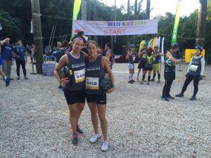 Outward bound duo race