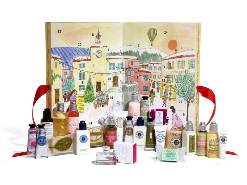 L'OCCITANE 2017 Advent Calendar HKD$450_With product