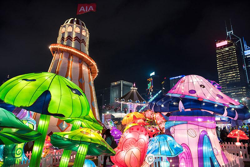 HONG KONG, CHINA - DECEMBER 31: TGEC New Years Eve.Hong Kong SAR, China on January 7th, 2016.