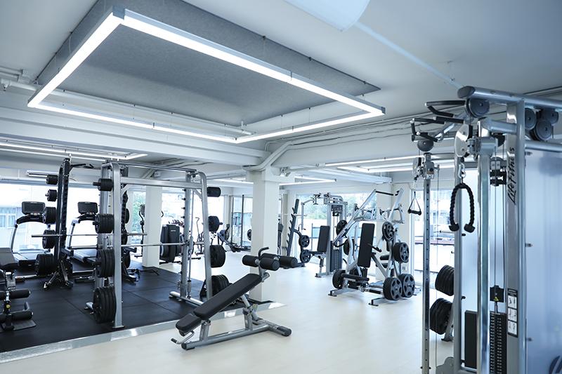 Ozone Fitness interior