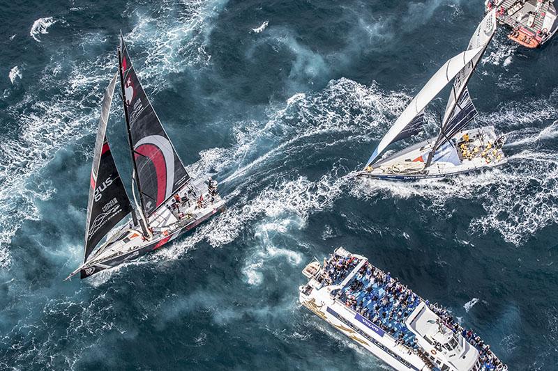 Alicante stopover. Leg 01 start. Photo by Ainhoa Sanchez/Volvo Ocean Race. 22 October, 2017