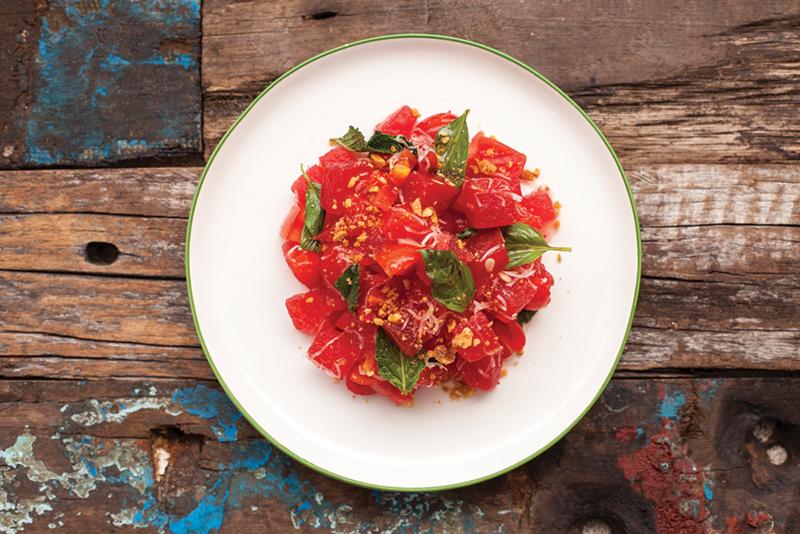 Compressed Watermelon Salad copy