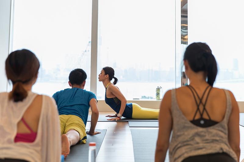 PureYoga_Instructor Vivian at Pure Yoga World Trade Centre copy