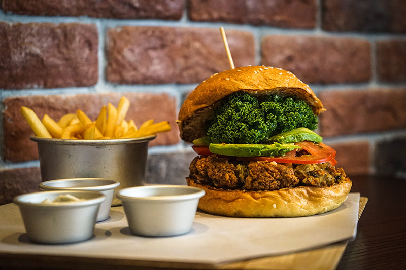 Morrison Falafel Burger $98