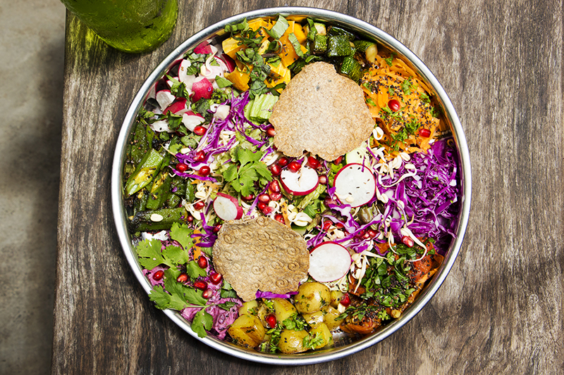 Poonie's kitchen Thali salad copy