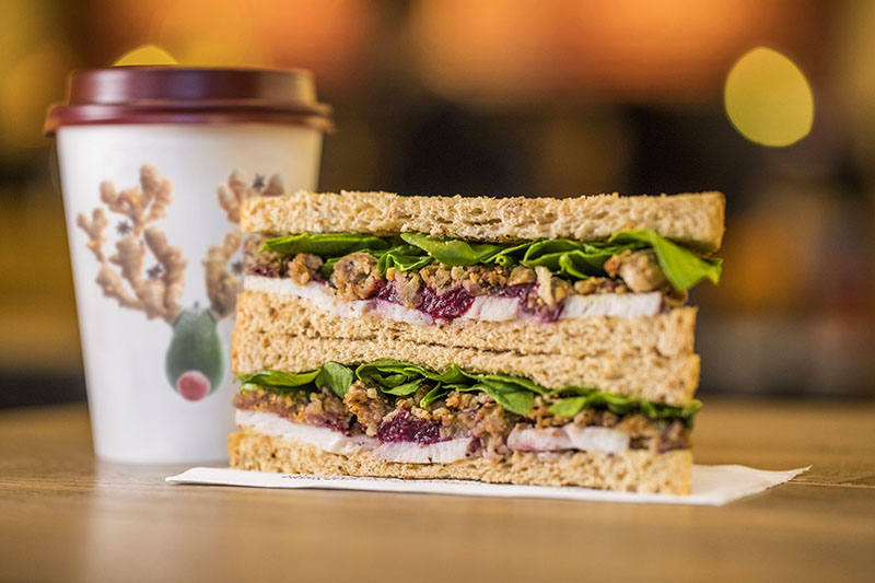 Pret A Manger - Christmas 2018 - Christmas Lunch Sandwich