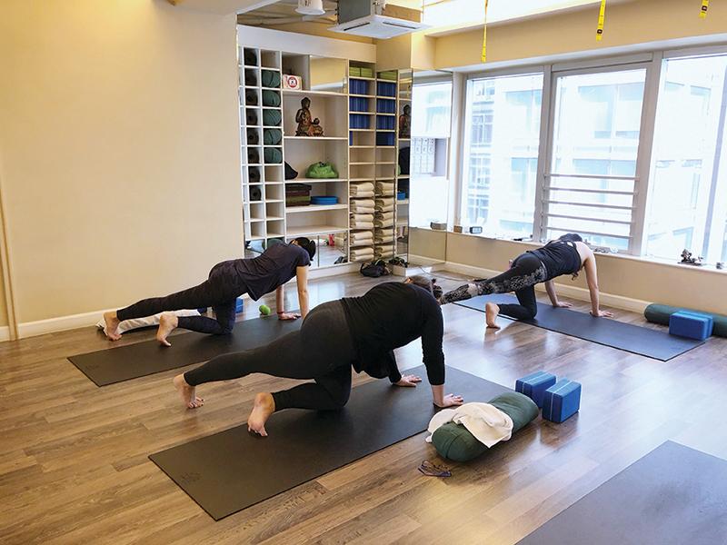 yoga postpartum