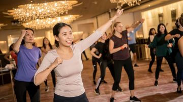 Our Wellness Evening with Cordis Hotel