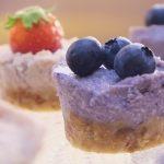 Healthy Recipe: Vegan Wild Berry Mini Cakes