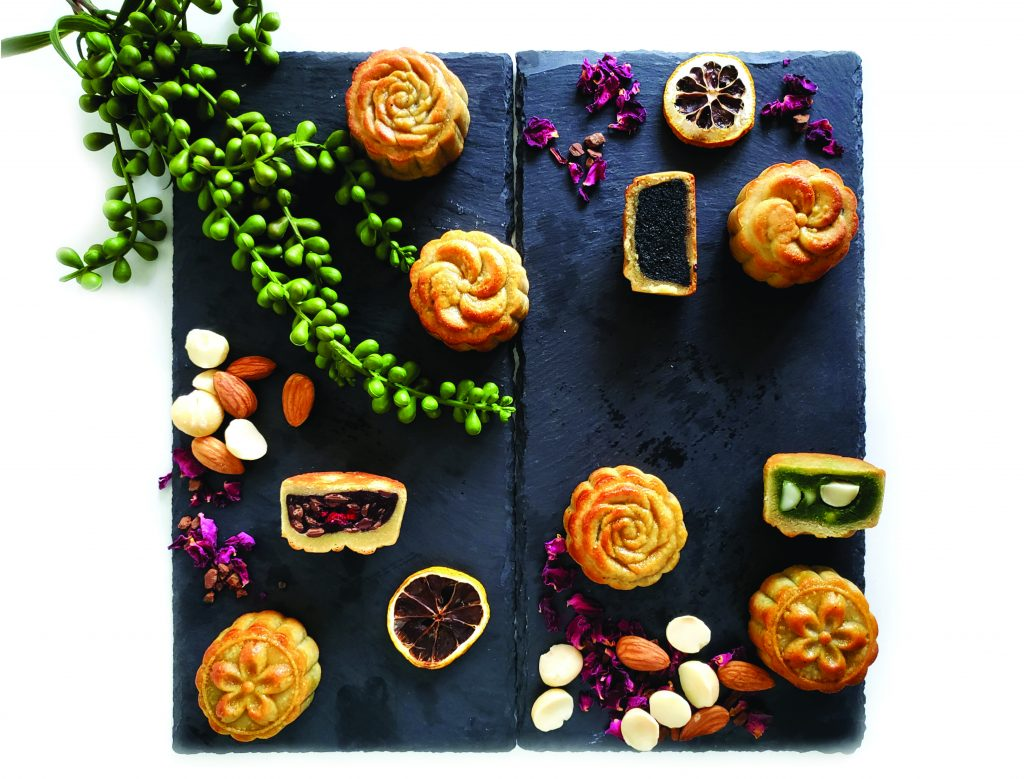 Healthy mooncakes from Foodcraft