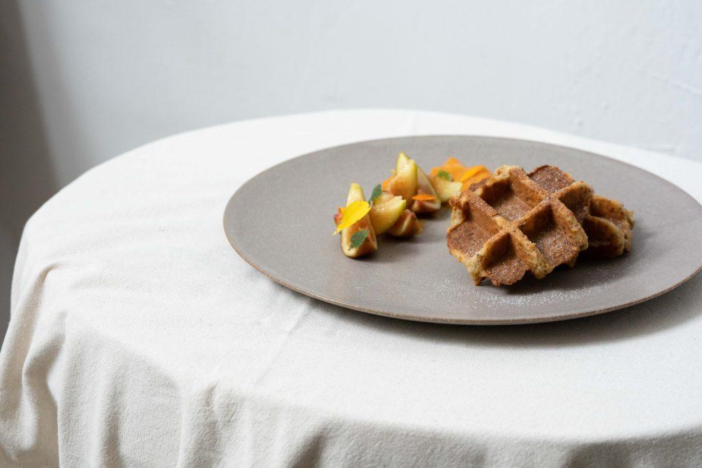 Nectar's Lemon Chia Waffles
