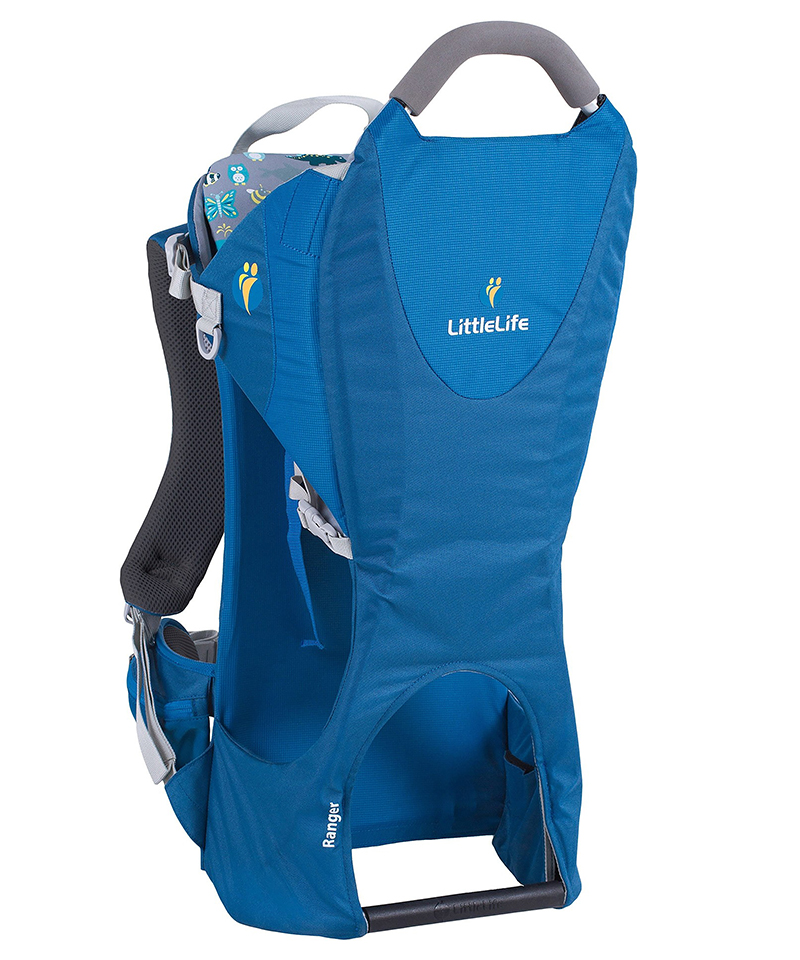 A blue Little Life Ranger baby carrier.