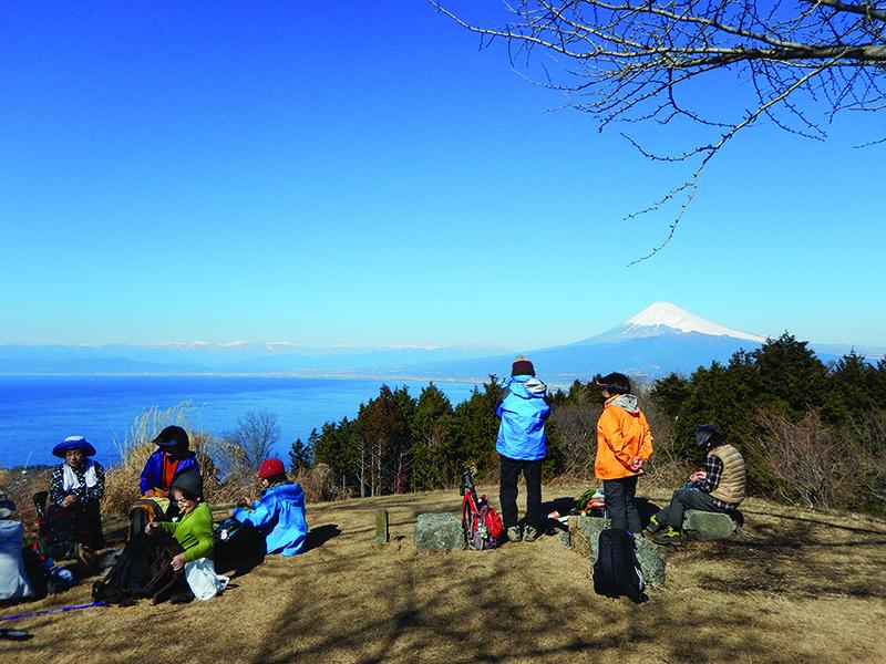 Mt. Fuji outside of Tokyo.
