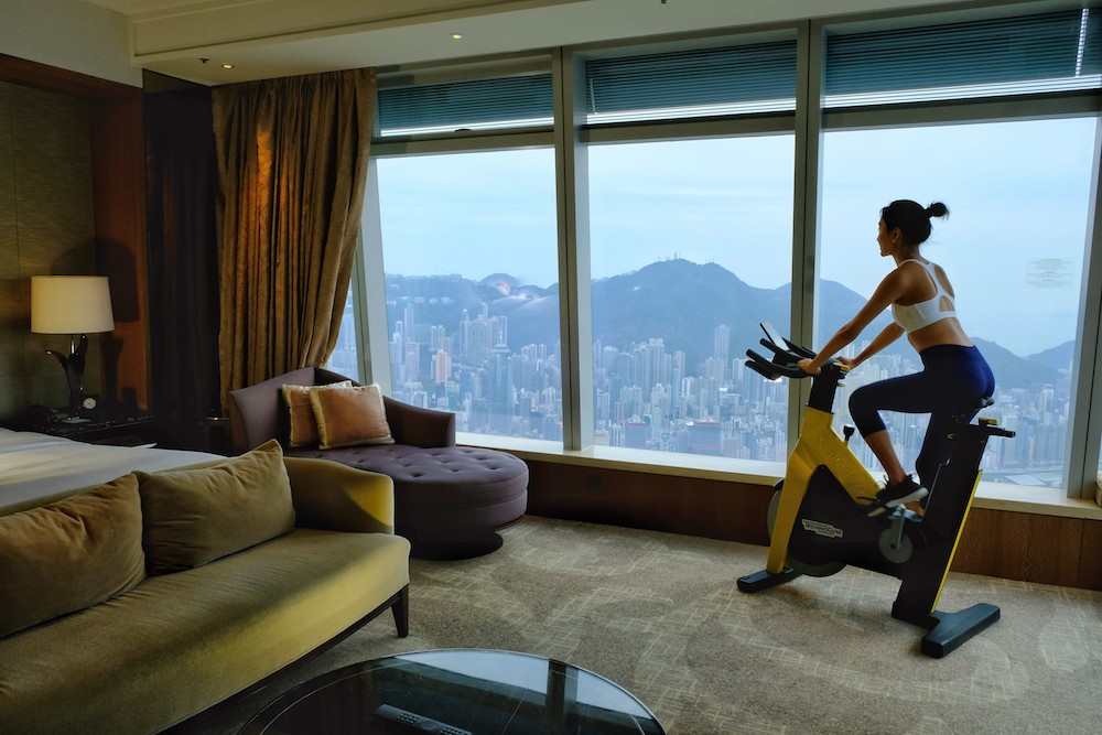 Wellness Room at the Ritz-Carlton Hong Kong