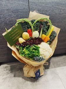 vegetable bouquet Hong Kong