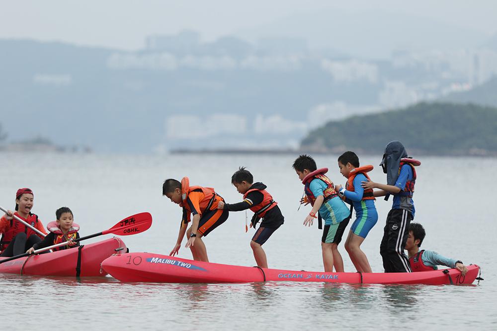 outdoor hong kong camp - outward bound