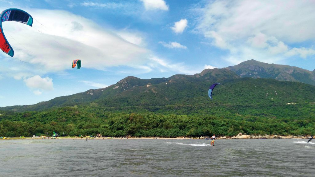 Holiday at Home | Kitesurfing Hong Kong