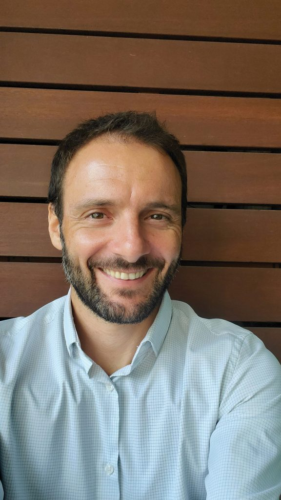 Olivier Courret, a Hong Kong hypnotherapist