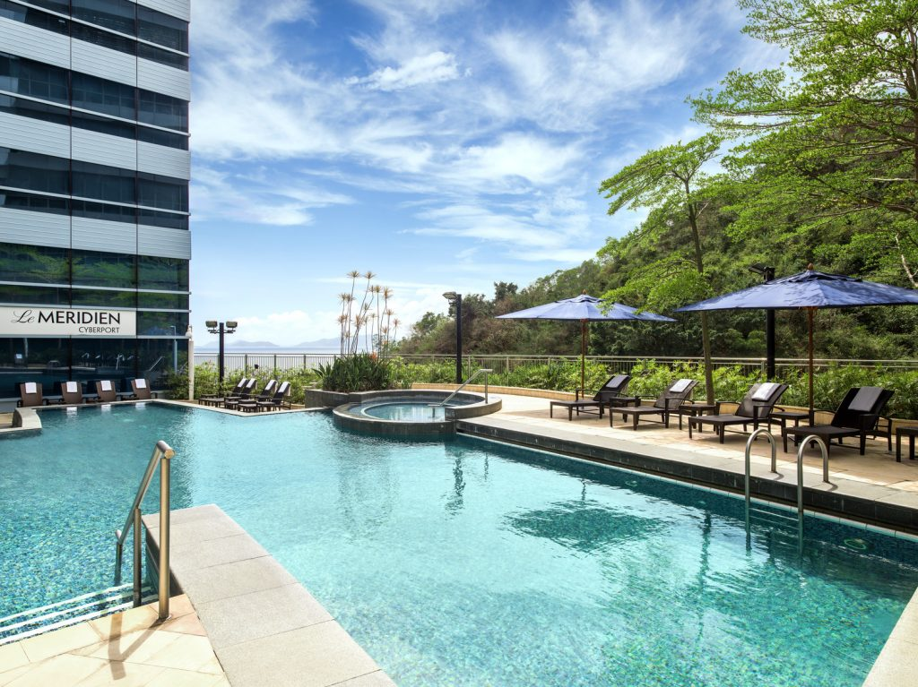 The Pool at Le Meridien Cyberport