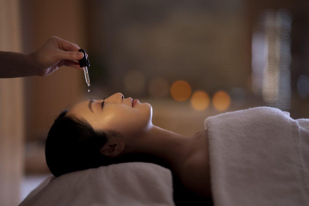 CBD treatment at the Landmark Mandarin Oriental